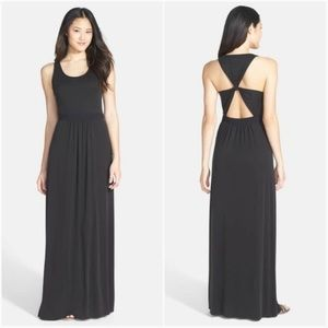 NWT BCBG black maxi dress